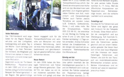 TIXI Verein Rollstuhlbus Rapperswil-Jona